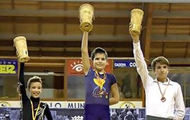 Kilian Gomis subcampeón de España 2013