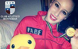Arancha Aliaga, medalla de bronce