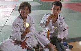 Actividad judoka en Tecnificación