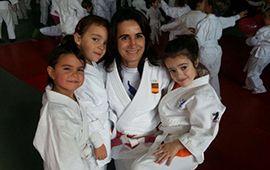 Festival solidario y educativo de judo