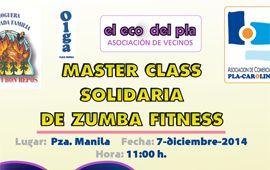 Masterclass Zumba 7 diciembre