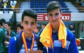 Dos medallas de bronce en el Campeonato