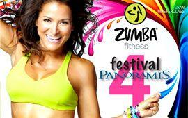 Nuestro profesor organiza el 4º festival de Zumba