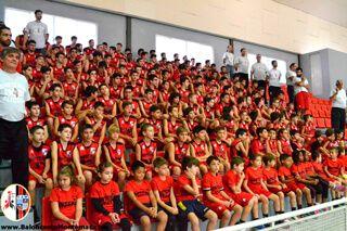 Presentación de los equipos de Baloncesto