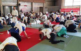 Éxito en la jornada Judo y Familia