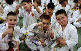 Éxito en la nueva jornada de Judo y Familia