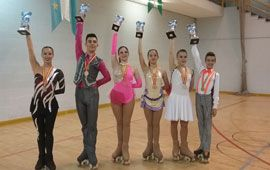 Seis podios en el nacional de solo danza