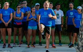 Fermín Cacho apadrina Runners Montemar