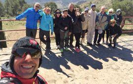 Los senderistas de Montemar visitan el Maigmó
