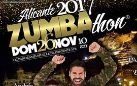 Apúntate al 6ª Festival ZUMBAthon Alicante