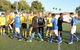 Nuestro fútbol se mide con el BK Astrio Sueco