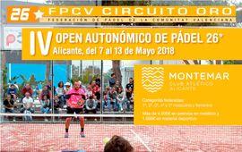 IV Open Autonómico federado de pádel 26* Montemar