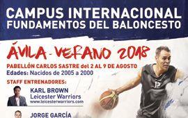 Campus de Baloncesto en Ávila
