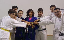 Virginia García, Campeona autonómica de Judo