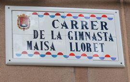 Maisa Lloret ya tiene su calle en Alicante