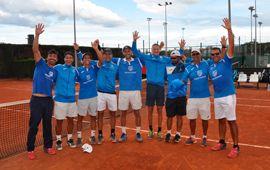Montemar ya es Club de 1ª Nacional por equipos de tenis