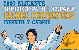 Supercopa de España de judo Isabel Fernández en Alicante