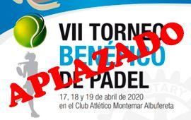 VII Torneo de pádel «Los Súper Niños» en Montemar