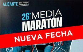 Nueva fecha para la Media Maratón