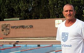 Entrevista a Rafael Aledo, entrenador de natación en C.A. Montemar