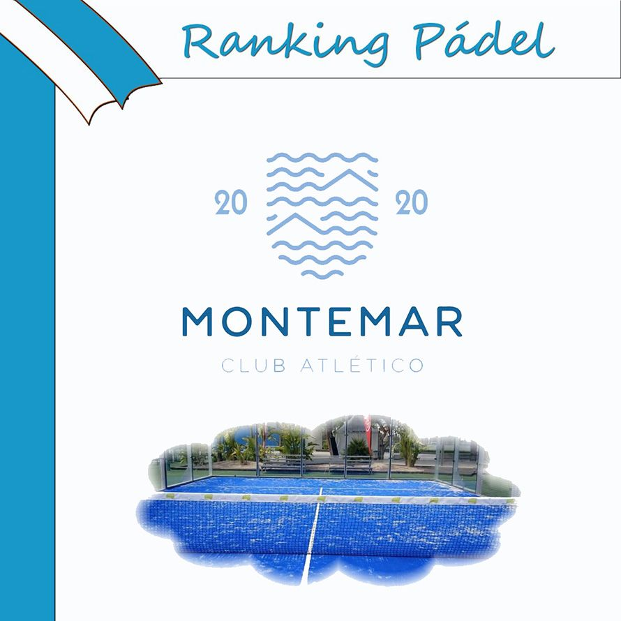 Raning de pádel Montemar 2020