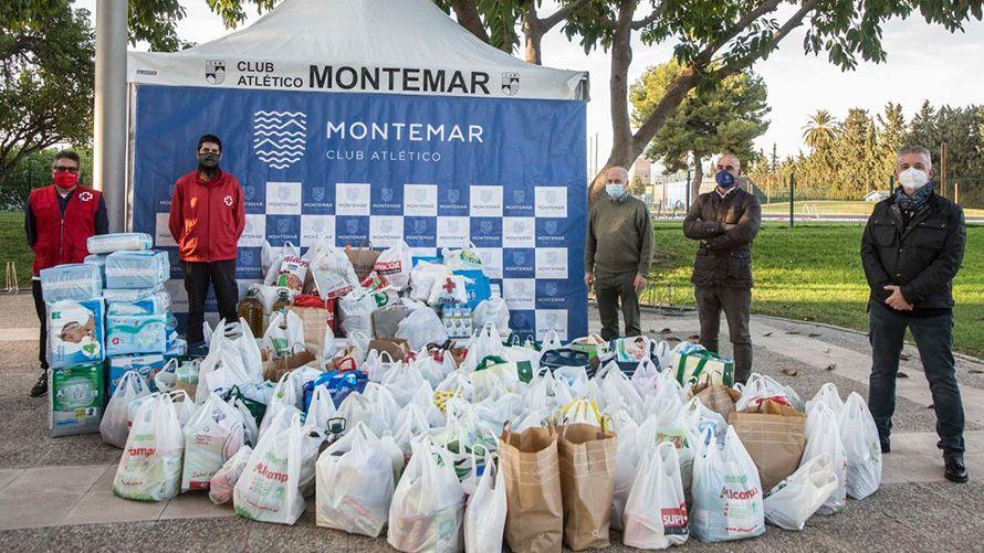 Entrega de Alimentos a Cruz Roja Alicante