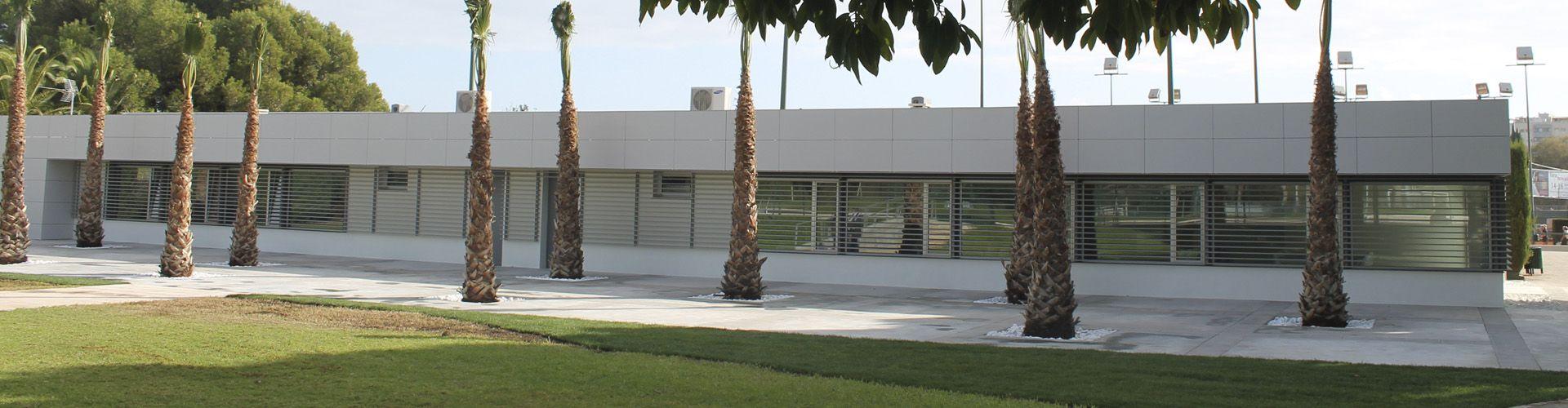 Edificio de la Sala de Estudios y Ludoteca