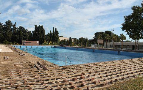 Comienza la reforma de la piscina