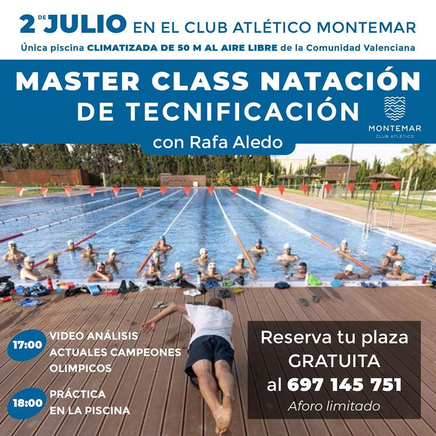 Masterclass de Natación en Montemar