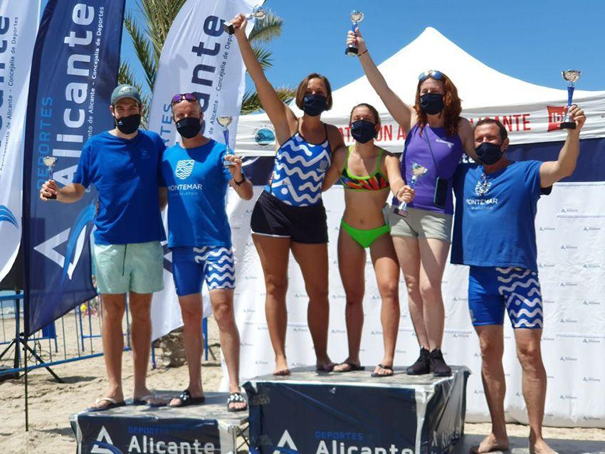Los nadadores Máster de Montemar empiezan a triunfar