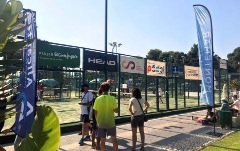 Fase previa Nacional del Campeonato de España de Pádel de Menores en Montemar