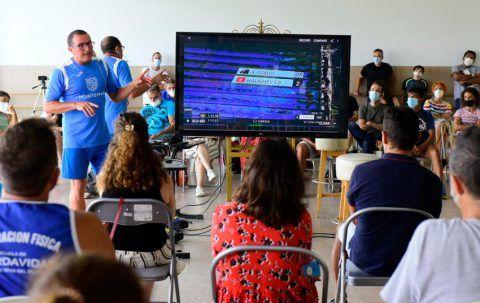 Magistral Master Class de Rafa Aledo en Montemar