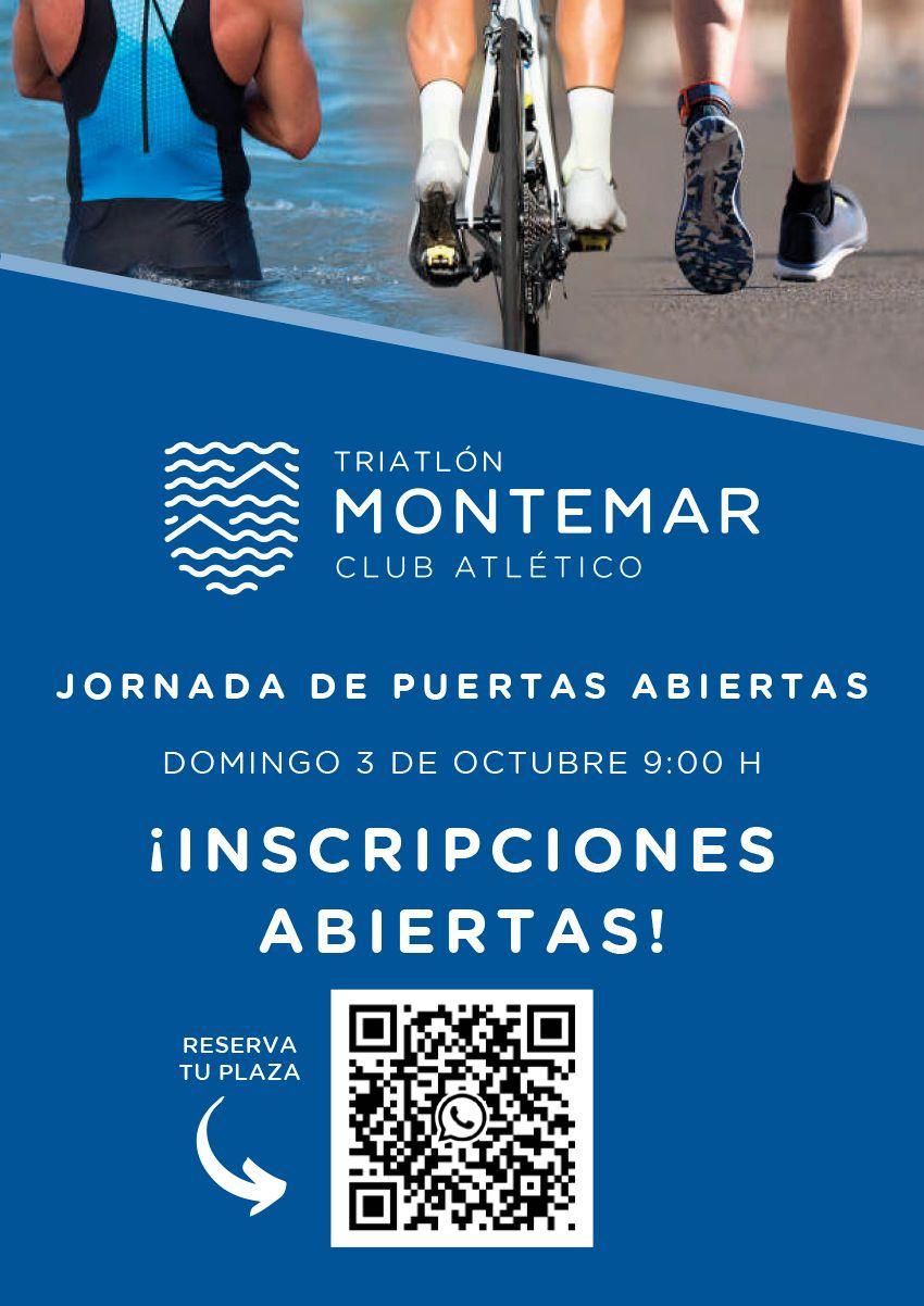 Jornada de puertas abiertas Triatlón Montemar
