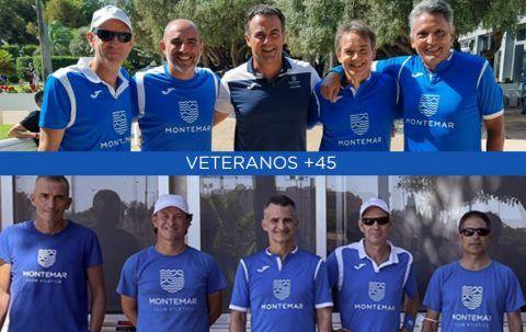 Los veteranos +45 juegan la final
