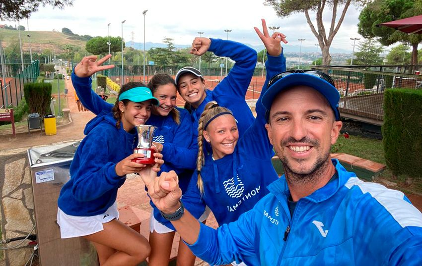 El equipo absoluto femenino de tenis de montemar a 1º nacional
