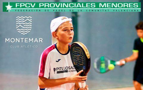 Torneo provincial federado de Pádel Menores