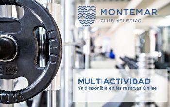 Reserva tu multiactividad con la APP del Club